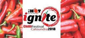 Hot 91.1 Ignite Chilli Festival logo