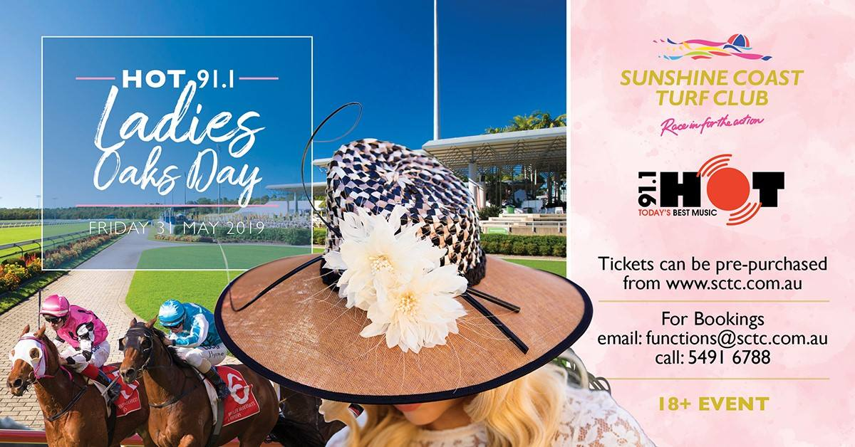 Ladies Oaks Day 2019 Downtown Caloundra