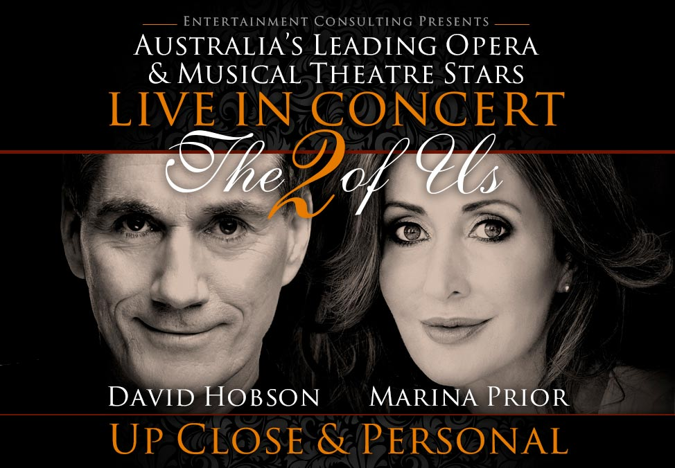 Marina Prior and David Hobson Concert Banner