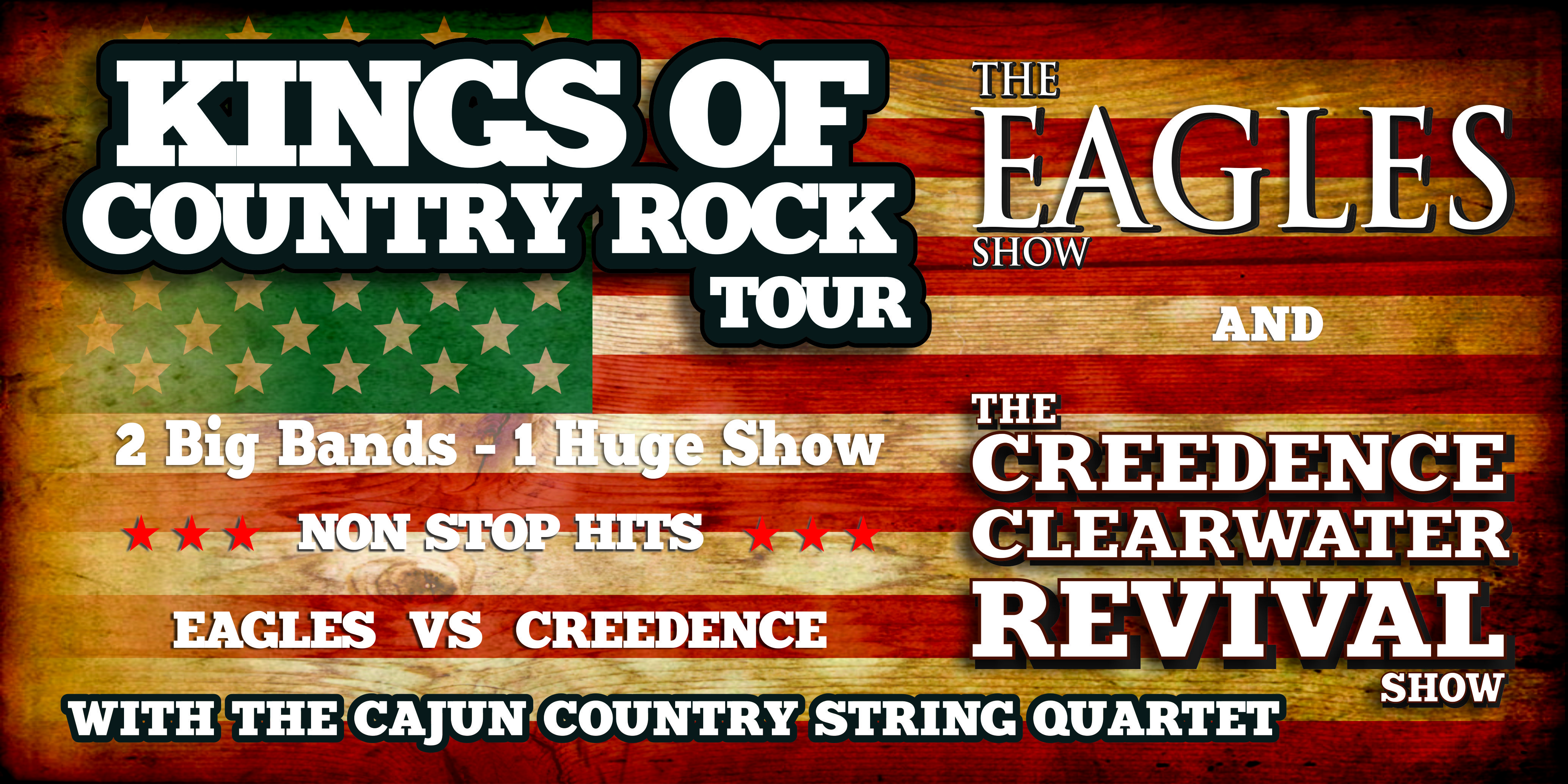 Kings of Country Rock Tour Banner