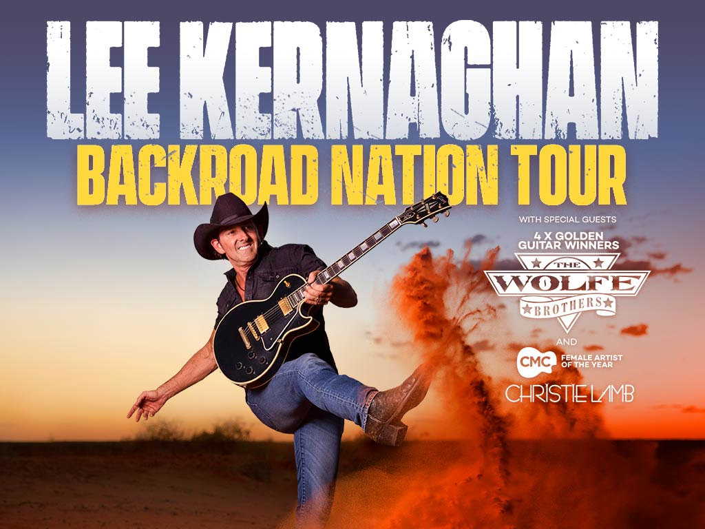 Lee Kernaghan Backround Nation Tour Banner